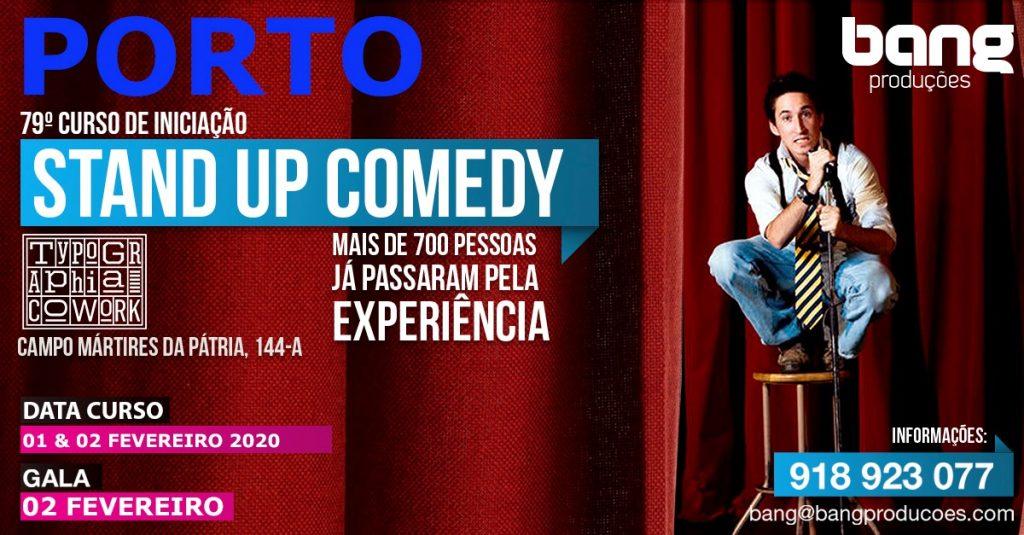 Curso de Iniciação Stand up Comedy