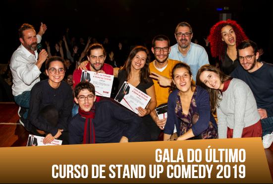 Gala do Último Curso de Stand up Comedy 2019