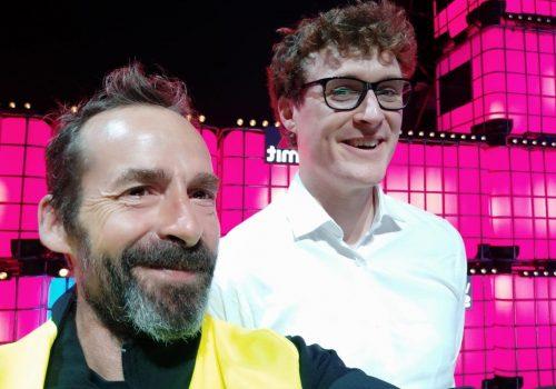 Paulo e realizador do Web Summit